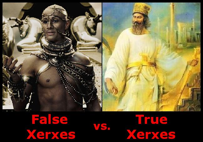 Los 10 000 Inmortales PersasReal Xerxes
